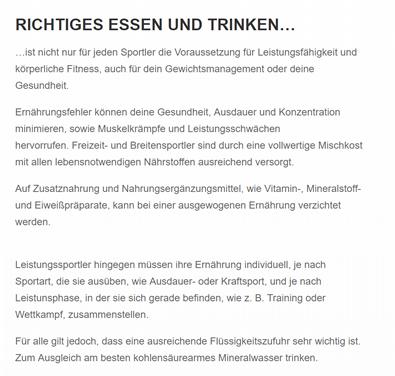 Ernährungsberatung für  Kirchheim (Neckar)