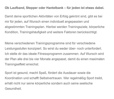 Laufband-Stepper-Hantelbank in  Massenbachhausen
