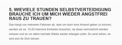 Selbstverteidigung für  Eberstadt