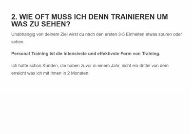 Trainieren in  Eberstadt