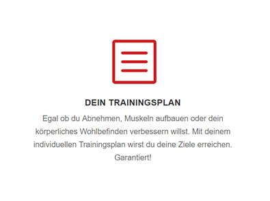 Persönliches Training in  Flein - Talheim, Untergruppenbach und Lauffen (Neckar)