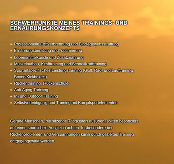 Trainingskonzept